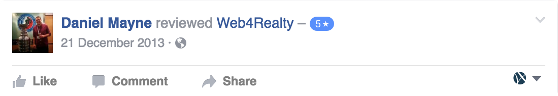 Web4Realty Facebook Review 23