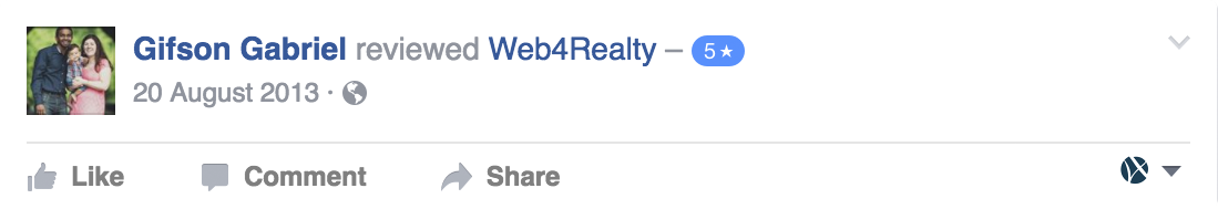 Web4Realty Facebook Review 41