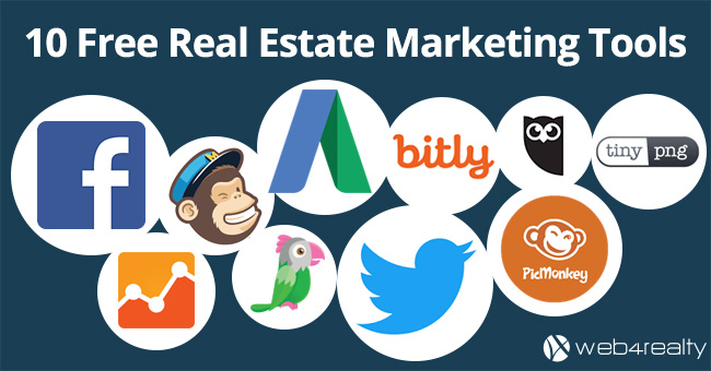 Top 10 Free Real Estate Marketing Tools