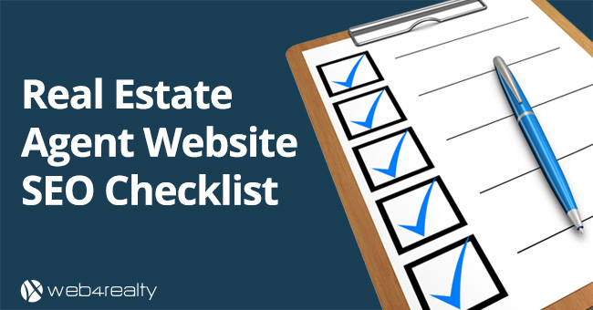 Real Estate Agent Website SEO Checklist ✅