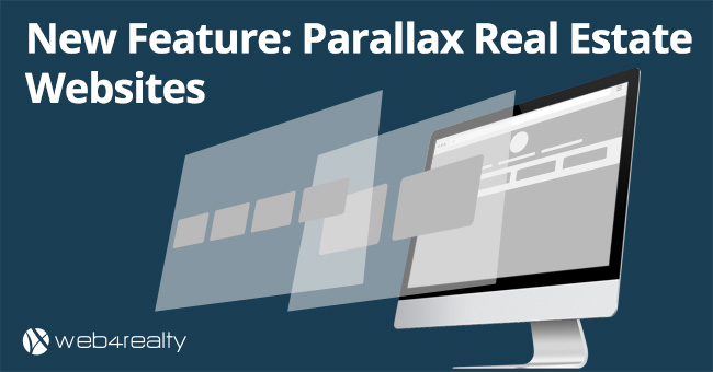 New Feature: Parallax Real Estate Websites